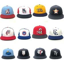 MiBL Minor League Baseball New Era Fitted Hat Cap 7 1/2 7 3/8