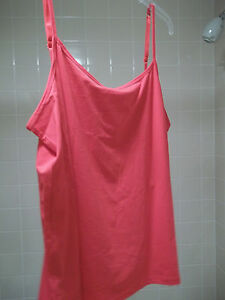 Ladies Cabelas Adjustable Camisole/Tank Size 2XL Neon Red Blouse~NWT
