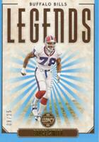 2020 Panini Legacy Bruce Smith Legends Indigo 08/25 Buffalo Bills Parallel