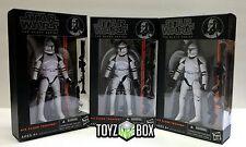 "In STOCK Star Wars Black Series #14 ""Clone Trooper"" 3 SET AOC 6 In Action Figure"