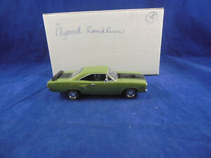 Matchbox Collectibles YMC04-M 1970 Plymouth Road Runner Hemi in Green 1:43 Scale