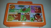 Disney Lion King Timon and Pumba Cook'd Up Comics Lunch Box pencil box vintage