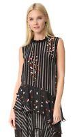 Sold Out! PREEN LINE Esme Multicolour Silk Top, Sz M, BNWT, RRP $495