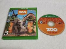 Zoo Tycoon (Microsoft Xbox One, 2013) Family Game - Rated E For Everyone - Kids
