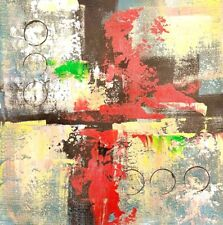 """12"""" Abstract hand painted oil painting on canvas Modern decor art"""