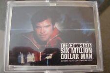 Six Million Dollar Man BASE Set The Complete Lot (72) Trading Cards Lee Majors 6