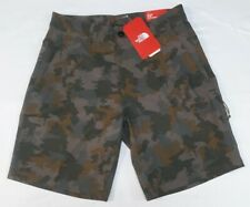 The North Face Mens Rolling Sun Explorer Camo Polyester Shorts Size  32R
