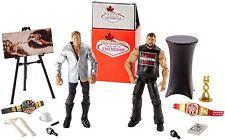 WWE FESTIVAL OF FRIENDSHIP Kevin Owens & Chris Jericho ELITE WRESTLING FIGURE