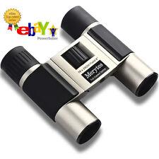 Merytes 10x25 Portable High Definition and Blue Film Binoculars