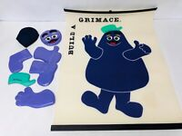 Grimace Game Vintage McDonalds Party Game, Build a Grimace, Collectible McDs Toy