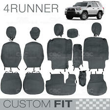 Custom Fit Seat Covers for Toyota 4Runner 2012 to 2013 ExactTrim Encore Charcoal