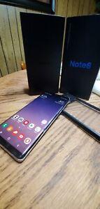 Samsung Note8 SM-N950U - Gray (Verizon) Zerolemon battery case plus extras