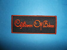 `CHILDREN OF BODOM` SEW OR IRON ON PATCH