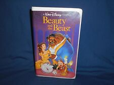 Beauty and the Beast VHS 1992 - Walt Disney's Black Diamond Classic Rare!!