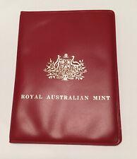 1969 Royal Australian Mint Uncirculated Coin Set Red Holder