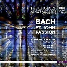 Academy Of Ancient Music And Cleobury - J.S. Bach: St John Passion (NEW SACD)