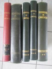 TECHNIQUES DE L'INGENIEUR - Construction - 4 Volumes + chauffage et froid