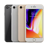 Apple iPhone 8 64GB (Factory Unlocked) Smartphone SR + 3 Month Free Service Plan