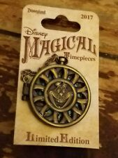 Disneyland magical timepiece pocket watch collection Cheshire Cat pin