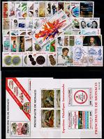 TIMBRES MONACO ANNÉE 2002 COMPLÈTE avec BLOC NEUF** SUPERBE
