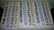 34 Ansett Airlines limited ed Numbered Flight Covers Tas - NZ 1980