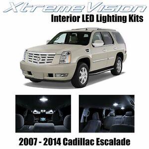 XtremeVision Interior LED for Cadillac Escalade 2007-2014 (16 PCS) Pure White