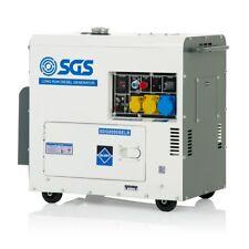 SGS 7.5 kVA Diesel Generator With Long Run 30L Tank