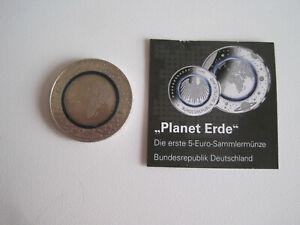 Deutschland -  5 Euro - Blauer Planet Erde - st - ( G ) - 2016