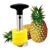 Easy Kitchen Tool Fruit Pineapple Corer Slicer Cutter Peeler Stainless Steel