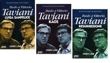 Dvd Paolo e Vittorio Taviani - Luisa Sanfelice - Kàos - Resurrezione (6 DVD) NEW