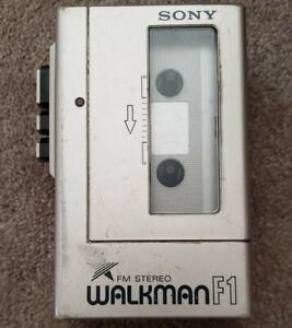 Sony Walkman F1 Stereo Cassette Player WM-F1 - WORKS