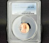 1984-S~1C~LINCOLN CENT~PCGS PR69RD DCAM~B/U~GORGEOUS BRIGHT RED BEAUTY~