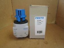 "Festo ON/OFF Start Valve HE-D-MIDI HEDMIDI 1/4"" NPT 16 Bar 230 PSI New"