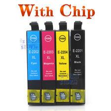 4 x Ink Cartridge 220XL for Epson workforce WF 2760 WF2650 WF2660 XP420 220 XL