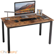 ufficio studio con 2 cassetti 106 x 50 x 76 cm Scrivania per computer in legno Zerone postazione di lavoro per casa multifunzione scrivania