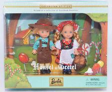 Barbie Kelly Tommy HANSEL & GRETEL Storybook Collector ED doll set .