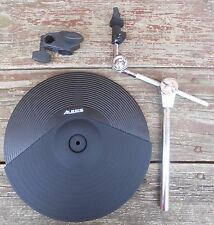 """Alesis DMPad 14"""" 3-Zone Cymbal w/Choke; w/ Mount, Clamp and Output Adapter"""