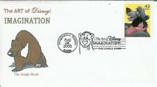 Walt Disney The Art of Imagination Event by WWW Only 3 Made! Mowgli + Baloo Bear