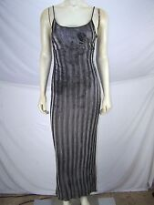 Urban Girl Black Silver Spaghetti Strap Dress Womens Size XS 0 2