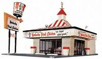"HO Scale - Kentucky Fried Chicken, Building ""KIT"" Life-Like 433-1394"