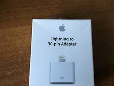 Apple MD823ZM/A Lightning to 30-Pin Adapter iPad/iPhone/iPod Genuine