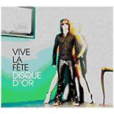 Vive la fete-DISQUE D OR CD neuf emballage d'origine