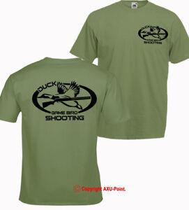 Hunting t shirt Game Bird Shooting Duck woodcock pheasant clay shooting trophy
