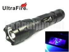 Ultrafire WF-502B UV 5w LED Ultraviolet 365nm Flashlight Torch