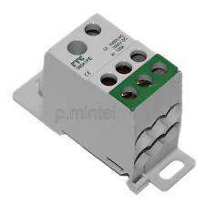 FTG 38041PE Kleinverteiler Klemmstein E/A 1x10²-35²+1x2,5²-16²/ 6x2,5²-16² grün