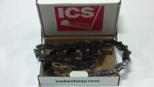 "Ics 13"" Diamond Concrete Cutting Chain TwinPro-25 Diamond Chain 74719 Hydraulic"