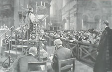 1902 Large Print- Thanksgiving Service -Recovery of Prince of Wales from Typhoid
