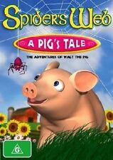 SPIDER'S WEB A PIG'S TALE - THE ADVENTURES OF WALT THE PIG  KIDS CARTOON DVD NEW