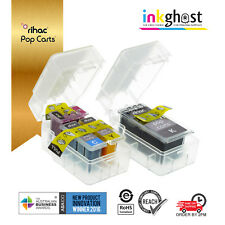 Rihac Pop Carts - for Canon PG-512 CL-513 Ink Cartridge refill Set PG512 CL513