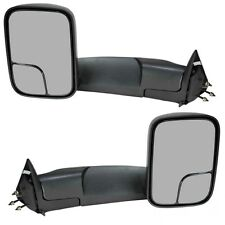 For 94-01 Dodge Ram 1500/94-02 Ram 2500 3500 Manual Towing Mirrors Side Tow Pair